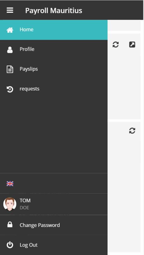 E-Payroll Mauritius - Mobile
